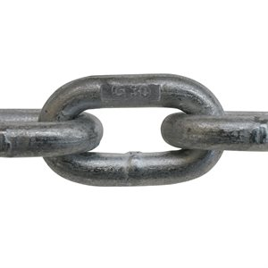 3 / 16 X 800 FT Galvanized Proof Coil Chain - USA