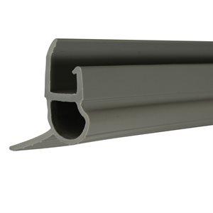 4' Gray Snap-On Mini Whse Bottom Seal X 20 Pcs