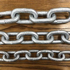 5 / 8 X 150 FT Galvanized Hight Test Mooring Chain
