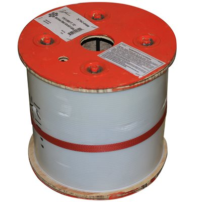 5 / 32 X 5000 FT 1X19 Type 316 Stainless Steel Cable