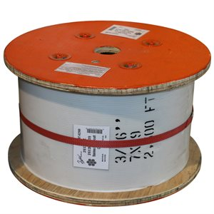 3 / 16 X 2500 FT, 7X19 Stainless Steel Aircraft Cable