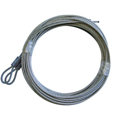 1 / 8 X 186 7X19 GAC Garage Door Torsion Lift Cables
