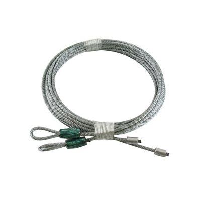 1 / 8 X 104 7X7 GAC Garage Door Torsion Lift Cables - Green