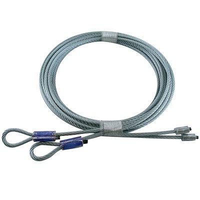 1 / 8 X 114 7X19 GAC Garage Door Torsion Lift Cables - Blue