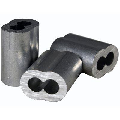 1 / 8 X 1000 Pcs Aluminum Sleeves
