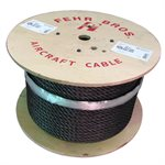 1 / 2 X 500 FT 19X7 Non Rotating Bright Wire Rope