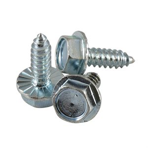 1 / 4 X 3 / 4 Hex Serrated Washer Head Type A / B Sheet Metal Screw X 1000 Pcs