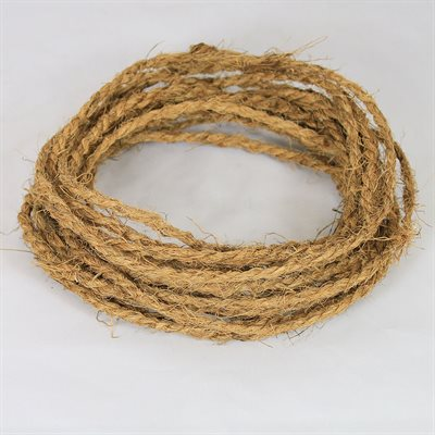 1 Bundle Equals 200 High Strength Strings , 20-1 / 2 Ft Long, Coir Twine