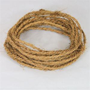 1 Bundle Equals 200 High Strength Strings , 20-1 / 2 Ft Long, Coir Twine