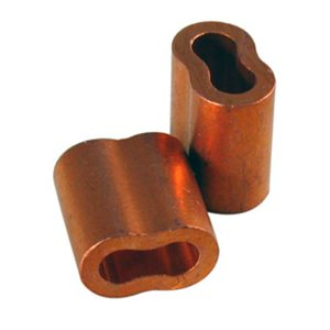 5 / 32 X 100 Pcs Copper Sleeves