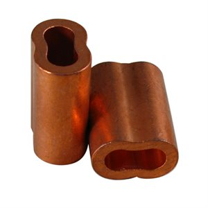 1 / 4 X 100 Pcs Copper Sleeves (08)