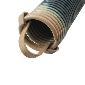 100 LB Extension Spring with Clip Ends - Tan