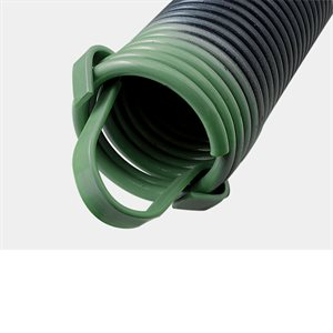 220 LB Extension Spring with Clip Ends - Green