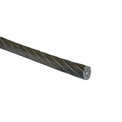 3 / 8 X 5000 FT 6X26 Double Swaged IWRC EIPS RRL Galvanized Wire Rope