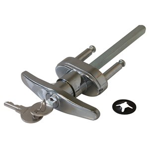 Blind Mount Locking T-Handle