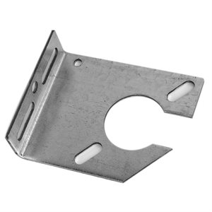 "Notched Spring Anchor Plate, 11 Gauge with 3-3 / 8"" Offset"