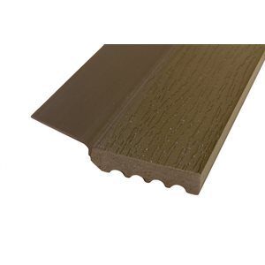 Dark Brown (P637-RSR) Uniflex 9 Ft X 15 Pcs