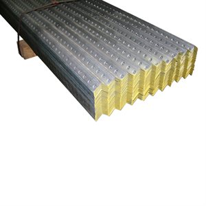 1-1 / 4 X 1-1 / 4 X 10 FT 12 Gauge Yellow Galvanized Perforated Angle