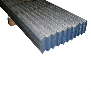 1-1 / 4 X 1-1 / 4 X 8 FT 16 Gauge Blue Galvanized Perforated Angle