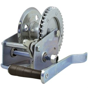 "1200 LB Hand Crank Winch with 2"" Hub"