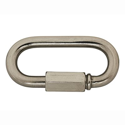 1 / 4 Stainless Quick Link Type 316 Stainless Steel