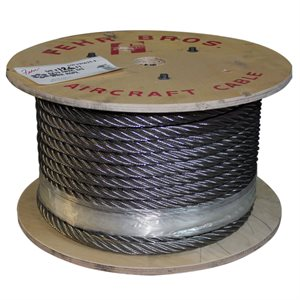 5 / 8 X 5000 FT 6X25 IWRC Stainless Steel Wire Rope