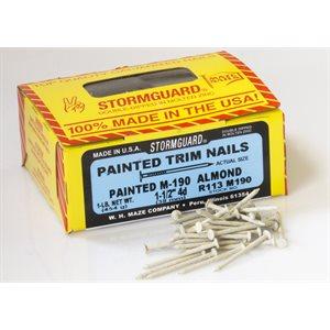 """Almond Maze 1-1 / 2"""" SmoothTrim Nail-1 Lb Ctn"""