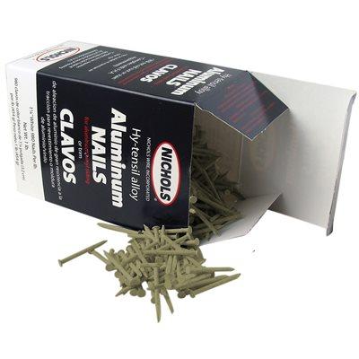 """Sandstone Trim Nails, 1-1 / 4"""" Aluminum Alloy, 1 Lb"""