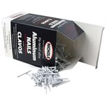 "White Trim Nails, 1-1 / 4"" Aluminum Alloy, 1 Lb"